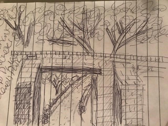Palace Garden doodles